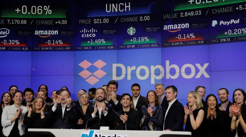Dropbox azioni