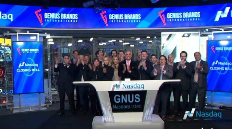 Genius brands azioni